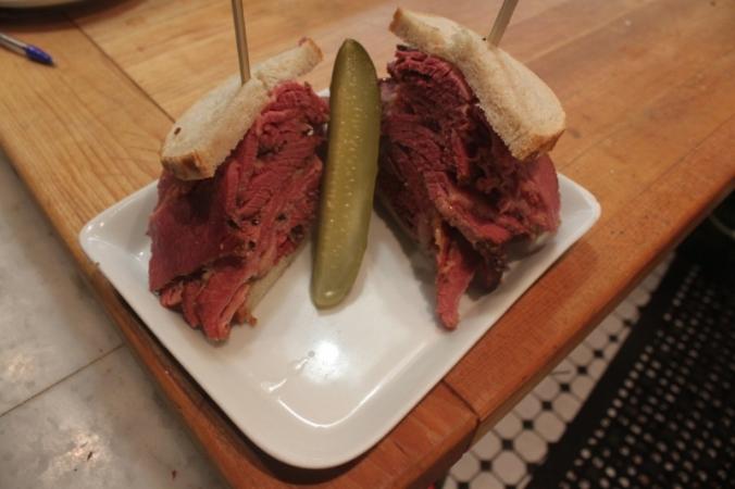 Smoked Meat Fresser Credit: Caplansky's Deli
