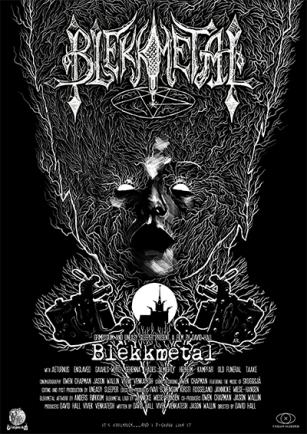Blekkmetal film poster